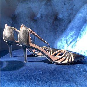 SJP by Sarah Jessica Parker Shoes - SJP by Sara Jessica Parker Black Leather Heels